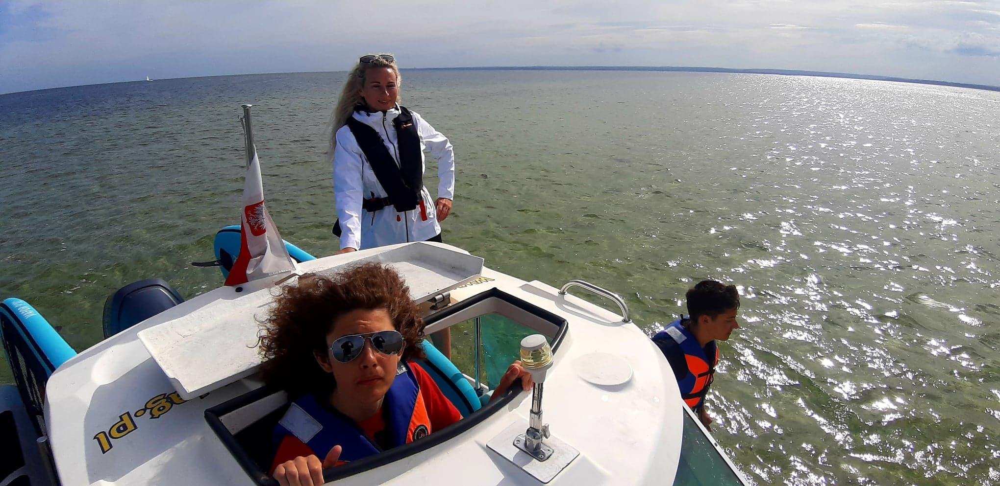 Młodzieżowy obóz wrakowo-morski Jastarnia